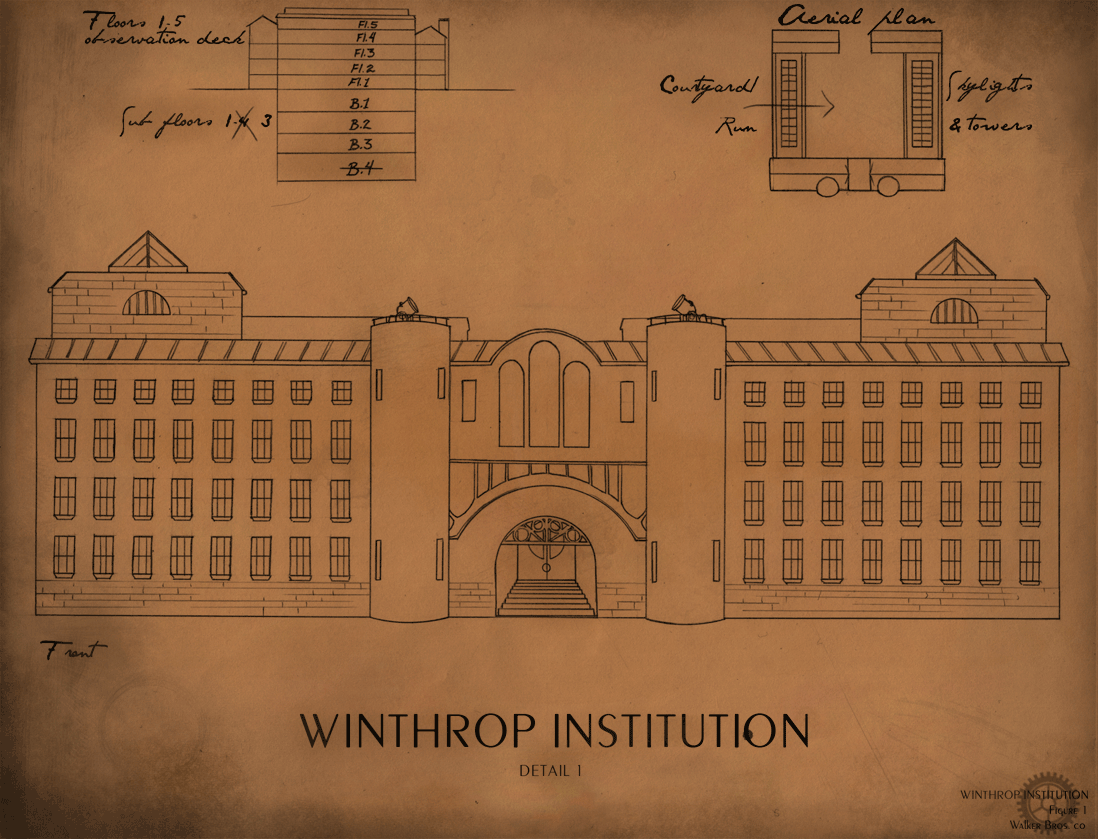 Winthrop Institution – Mock-Up