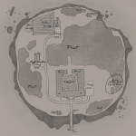 Winthrop Island - Rough Map